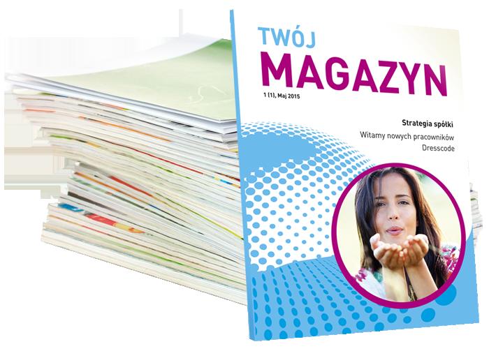 Biuletyny imagazyny custom publishing